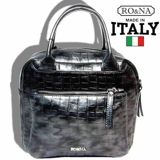 Итальянская кожаная сумка среднего размера - RONA