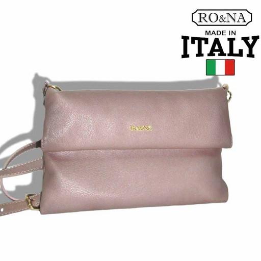 Женская сумка-клатч из натуральной кожи - RONA