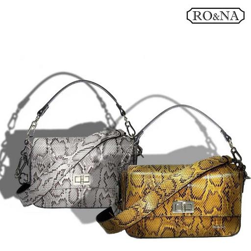 Итальянская маленькая сумка из натуральной кожи
