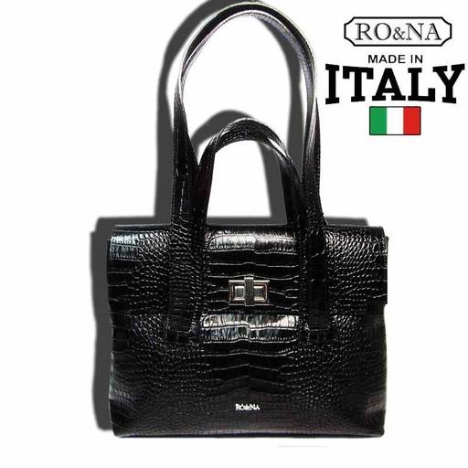 Сумка портфель женская кожаная - деловая Италия