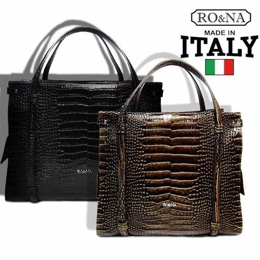 Женская кожаная сумка Италия - бренд RO&NA