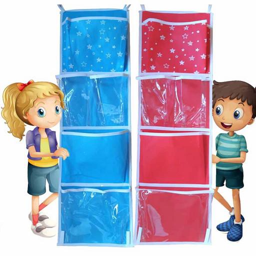 Органайзер-кармашки в детский шкафчик