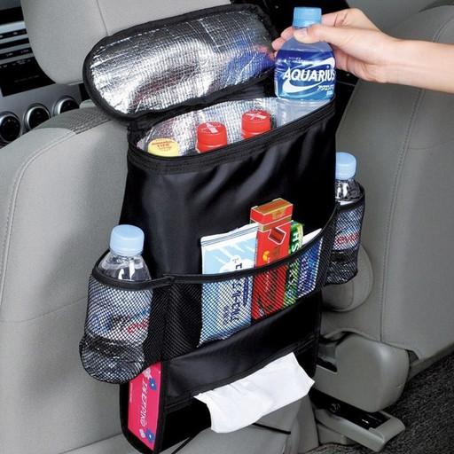 Термосумка на спинку переднего сидения автомобиля