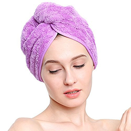 Полотенце на голову - тюрбан для сушки волос