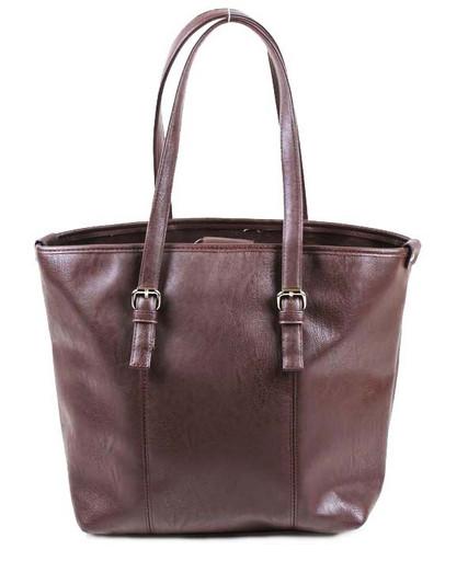 Женская классическая сумка без молнии - Шоппер
