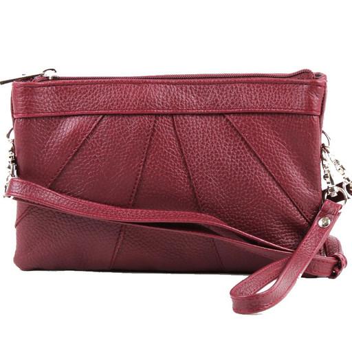 Женская сумка клатч - из натуральной кожи