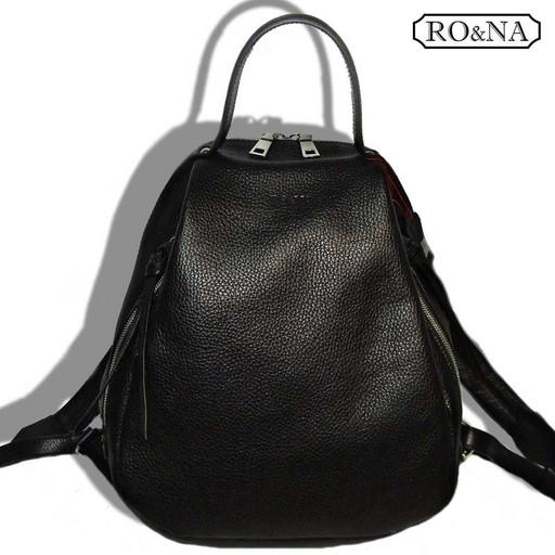 Женский кожаный рюкзак для леди и дам постарше