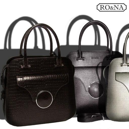 Женская кожаная сумка - среднего размера, Итальянская