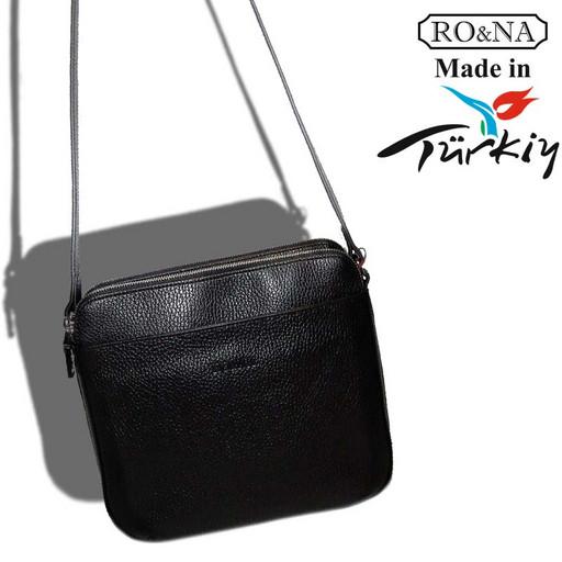 Женская классическая сумка из натуральной кожи-кросс боди