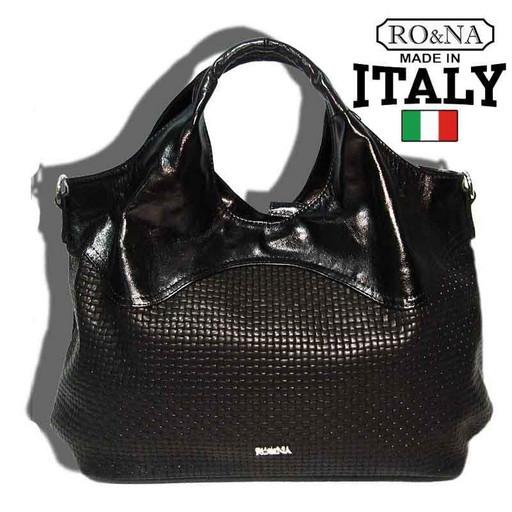 Женская кожаная сумка - Итальянская intrecciato line