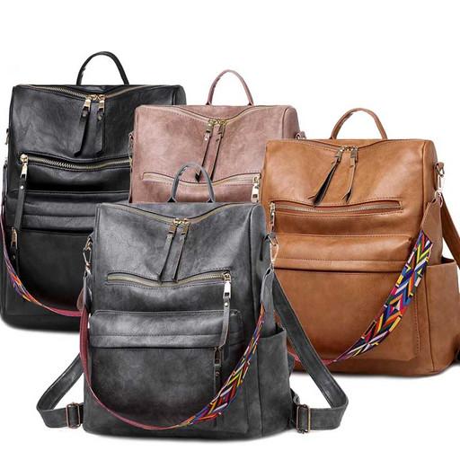 Большая женская сумка рюкзак - в интернет магазине