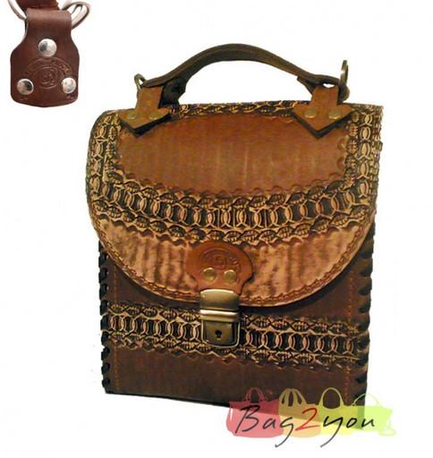 Женский портфель ручной работы
