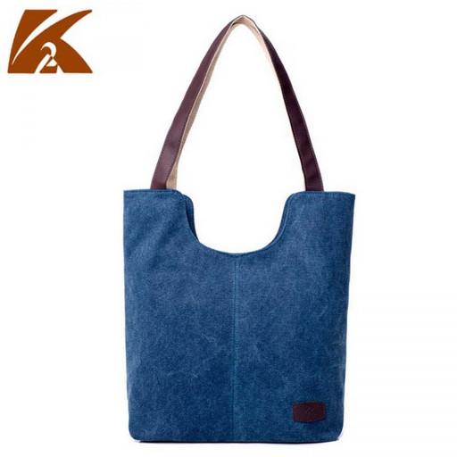 Текстильная сумка из ткани на плечо
