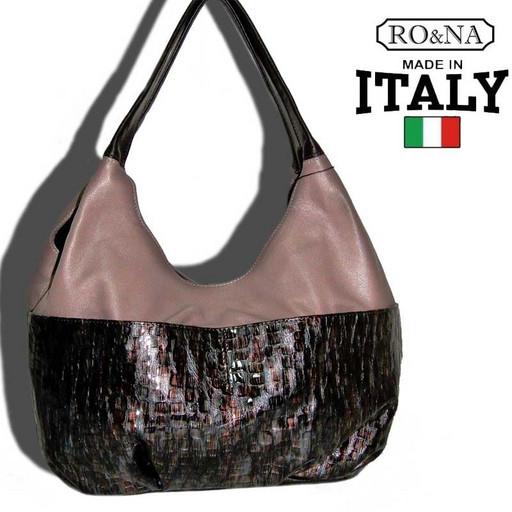 Женская сумка из натуральной кожи Италии - на плечо