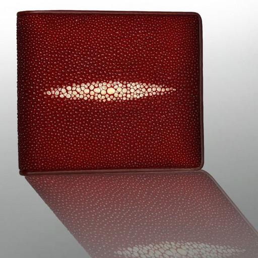 Портмоне красное с отделениями, кармашками для SIМ или microSD карт