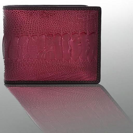 Кожаное портмоне из страуса - дорогой подарок