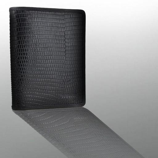 Кожаное портмоне из варана - для документов водителя