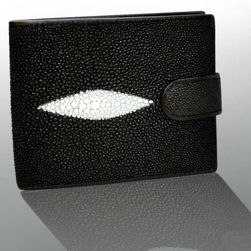 Бумажник - портмоне из кожи ската