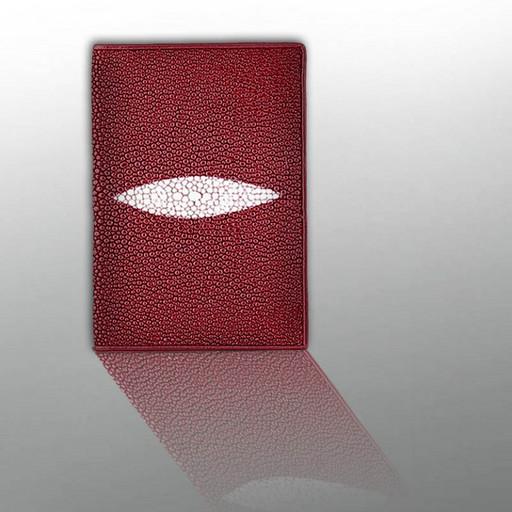 Паспортная обложка кожа