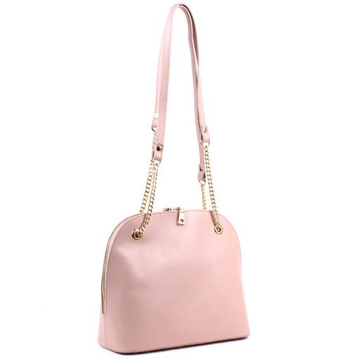 Женская сумка с ручками на цепочке - купол
