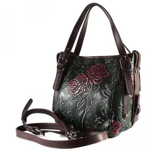 Наплечная кожаная сумка 83588