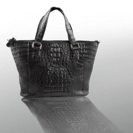 Женская сумка из кожи крокодила премиум