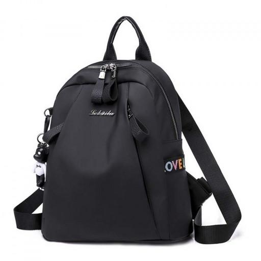 Городской женский рюкзак из прочной ткани - модный и практичный