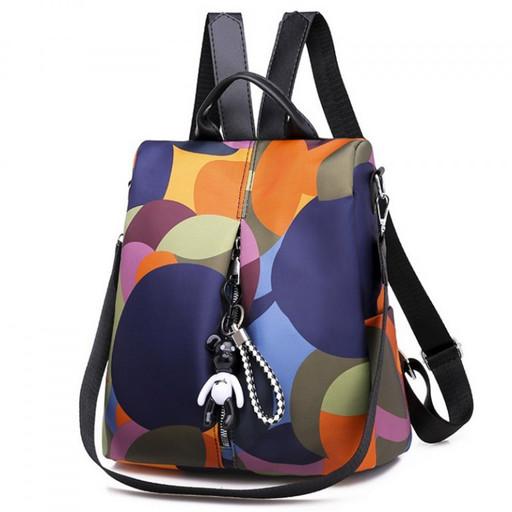 Женская сумка рюкзак - разноцветный трансформер