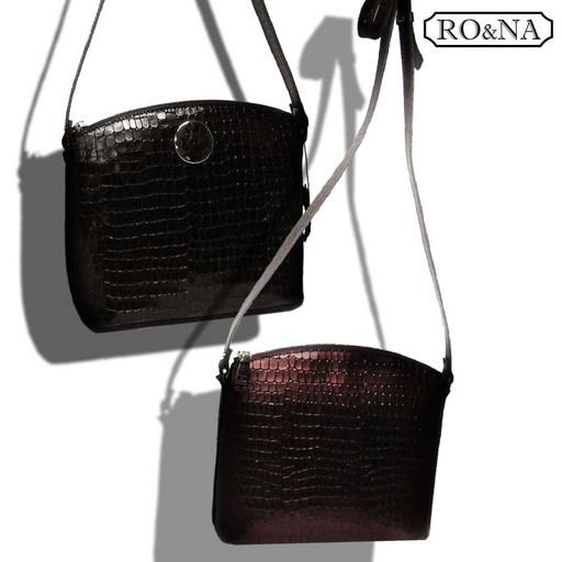 Маленькая кожаная сумка через плечо - Итальянская