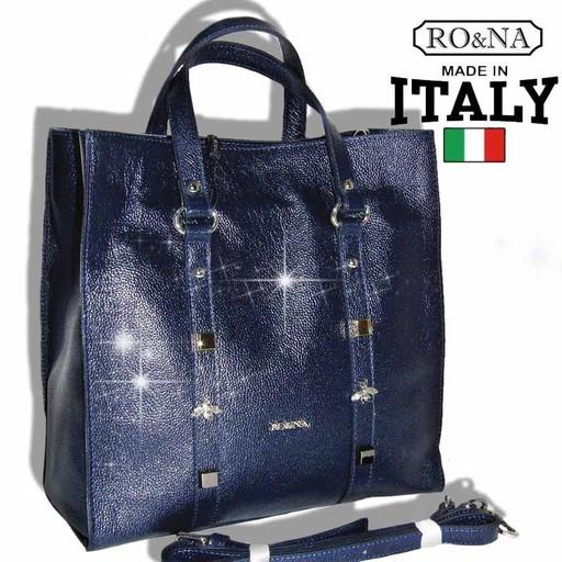 Большая женская сумка из кожи - RO&NA