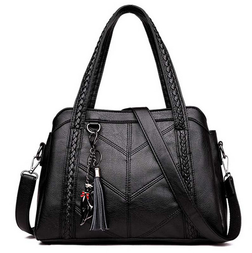 Женская, повседневная сумка много отделений