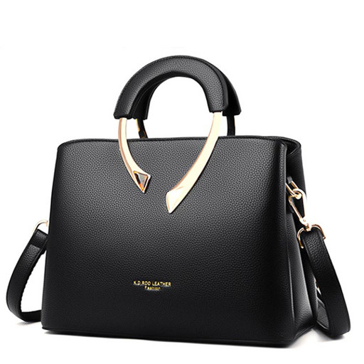 Женская сумка среднего размера с 3 отделениями