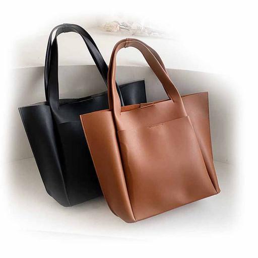 Большая женская сумка на плечо-Шоппер