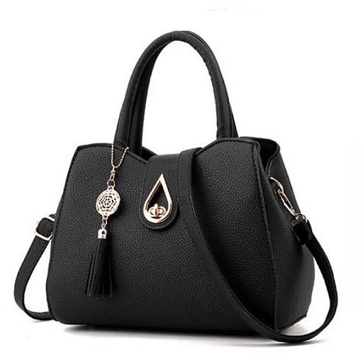 Женская сумка бутон - много отделений, через плечо