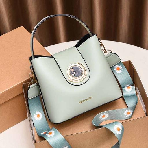 купить. маленькая, женская, мята, сумка, через плечо, ведро, интернет магазин, Москва