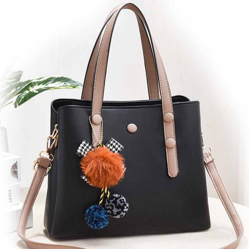 Женская цветная сумка с ручками и через плечо