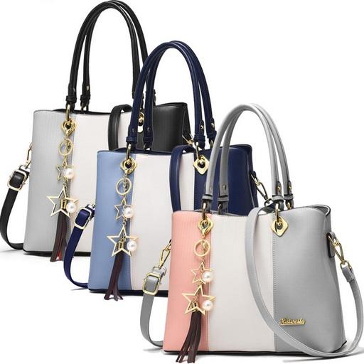 купить, женская, сумка, трехцветная, цветная, через плечо, много карманов, интернет магазин