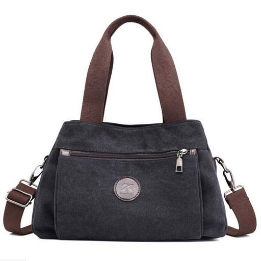 Женская сумка из текстильной ткани