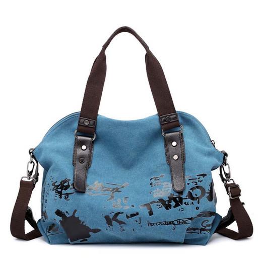 Женская сумка из ткани - ручная кладь в поездки