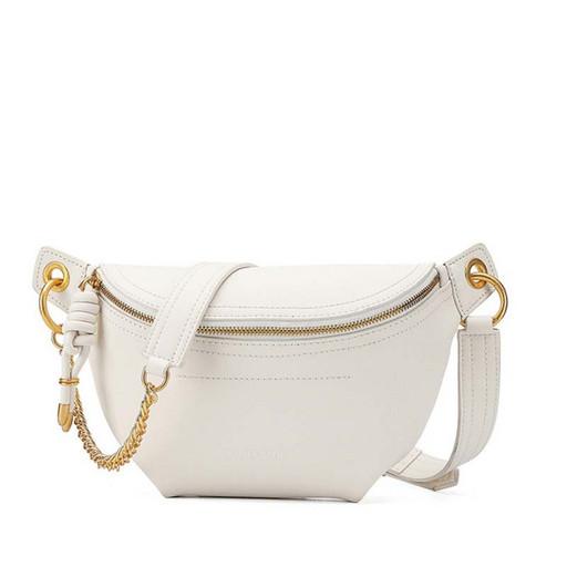 Женская сумка седло - модель через и на плечо