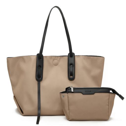 Большая женская сумка на плечо - Шоппер
