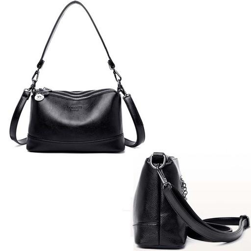 Женская, маленькая сумка со съемной ручкой и ремнем через плечо