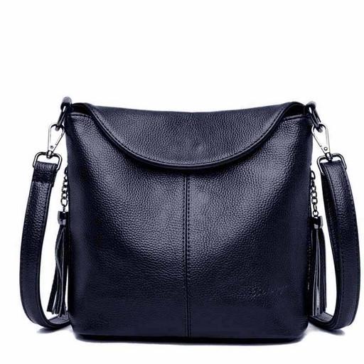 Женская сумка - планшет с двумя ремнями