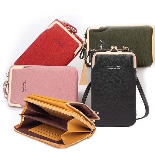 Маленькая женская сумка для телефона-кошелек-клатч