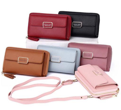 Маленькая сумка-кошелек для телефона
