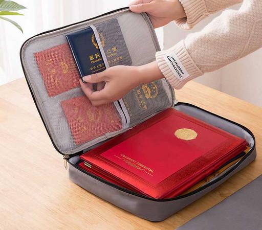 Папка органайзер для документов А-4 и паспортов