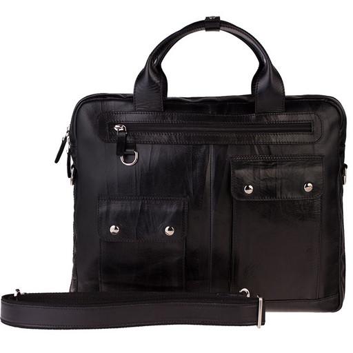 Мужская сумка портфель из натуральной кожи - премиум класса