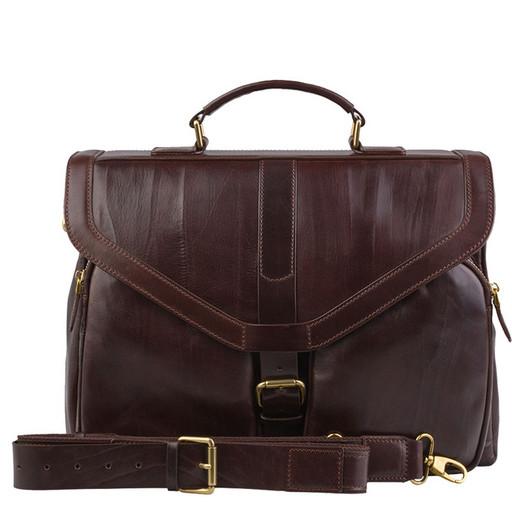 Мужской, кожаный, брендовый портфель - премиум класса