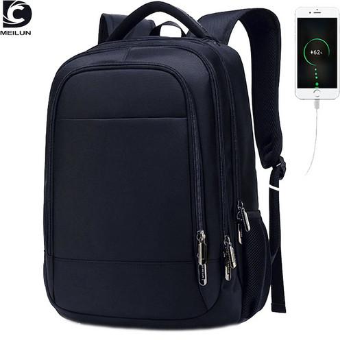 Мужской рюкзак в школу - классический для старшеклассников