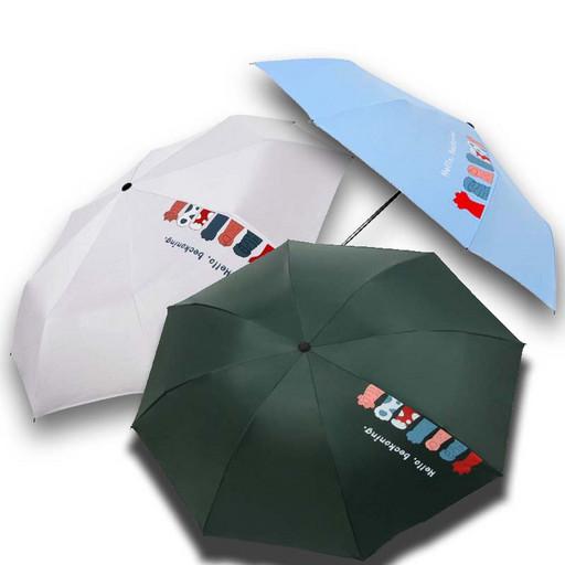 Женский зонт дождевой и от солнца - механический